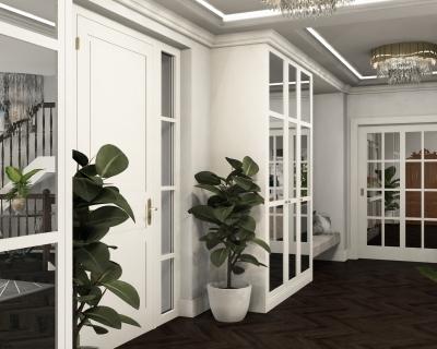 Projekt: Villa im Klassischen Stil